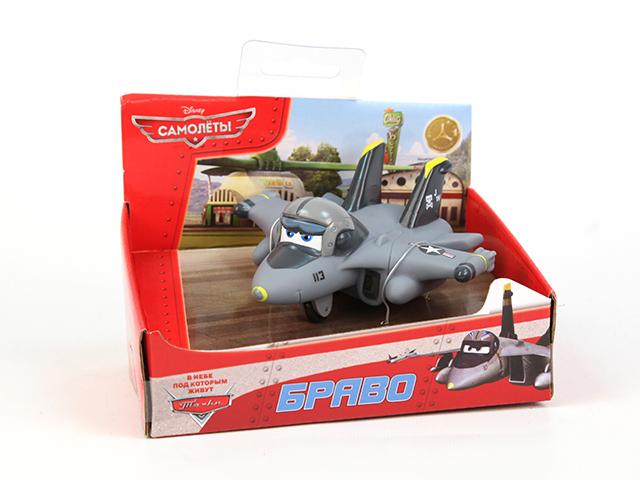 Пластизоль Самолет БравоGT6787Забавная фигурка мультипликационного героя «Самолеты» Аэротачки (DISNEY PLANES ,самолёта Браво, выполнена из пластизоля, станет любимым другом Вашего ребенка. Игрушка порадует малыша и превратит купание в удовольствие, а игра с ним поможет развить мелкую моторику рук, воображение, цветовосприятие и концентрацию внимания.При производстве игрушек используются новейшие технологии и высококачественное сырье без применения фталатов. Все игрушки расписаны вручную и отличаются точной прорисовкой деталей.