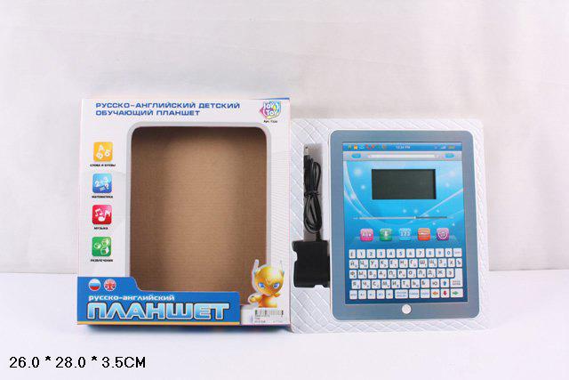 Компьютер Joy Toy Планшет, обучающийA848-H05074Joy Toy 7243 - отличный подарок для вашего ребенка, который поможет в развитии разнообразных навыков. С его помощью малыш сможет выучить буквы, научится писать и читать. Математические задания разовьют логические способности, а музыкальные - слух. А чтобы ребенок смог немного отдохнуть после занятий, в планшете есть несколько увлекательных встроенных игр. Модель имеет компактные размеры, поэтому его удобно брать с собой на прогулку или в путешествие. ЖК-экран полностью безопасен для детских глаз. Интерфейс модели представлен как на русском, так и на английском языке.