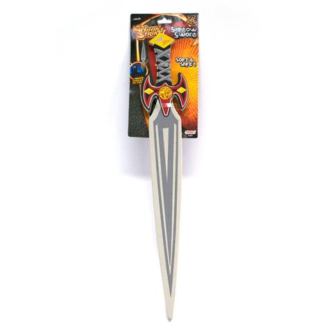Меч Ниндзя Ninja Strike62561Замечательный подарок для вашего мальчика, с помощью которого ребенок ощутит себя настоящим героем. Меч имеет звуковые и световые эффекты, которые сделают игру еще более интересной. Изделие выполнено из высококачественного пластика.