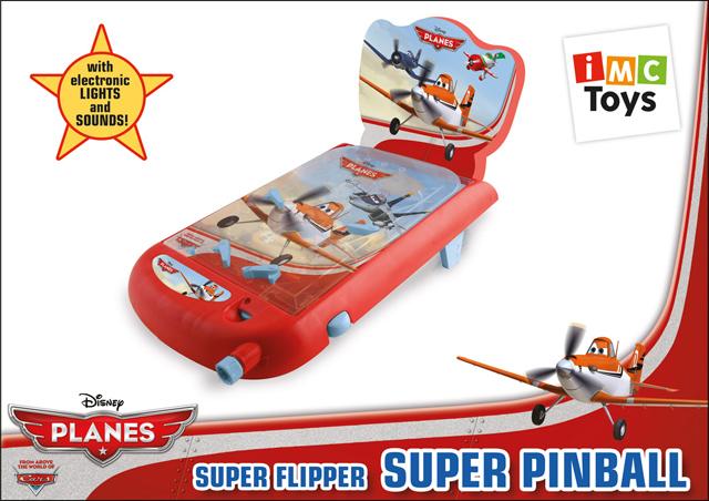 IMC Toys Настольная игра Пинбол Planes625037Пинбол Planes, для любителей мультфильма DISNEY Самолёты - азартная, увлекательная игра, которая способствует развитию координации движения, внимательности, ловкости и быстроты реакции. Чтобы начать игру, выпустите шарик натягиванием плунжера. Шарик начнёт двигаться вправо, где расположен выстреливатель. Натягивание выстреливателя вернёт шар на игровую поверхность. Цель игры - держать шарик в движении столько, сколько возможно, и набрать максимальное количество очков. Чтобы это сделать, вы должны постараться остановить шарик, пропустив его через флажки и использовать их для ударов по очковым буферам в середине игрового поля снова и снова. Чтобы сбросить ваш счёт до нуля и начать новую игру, нажмите на кнопку в верхней части табло. После одного нажатия на табло - ноль. Каждая игра состоит из 3 запусков шарика. Если на колесе отражается 0, значит, игра закончена. Чтобы начать новую игру, покрутите игровое колесо против часовой стрелки, пока не появится число...