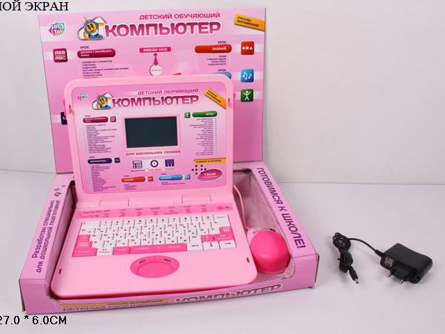 Компьютер Joy Toy обучающий, русско-английский, с мышьюA848-H05068/7294Joy Toy 7293 - это детский ноутбук с цветным экраном, клавиатурой и мышкой, который станет отличным подарком для вашего ребенка дошкольного возраста. В нем представлены 60 различных заданий, которые разделены условно на несколько блоков: урок математики, урок знаний, урок русского/английского языка, урок музыки и перемена (20 игр и рисование). С помощью данного компьютера ребенок выучит слова, буквы, цифры, научится читать, писать и познакомится с нотами. Интерфейс модели представлен как на русском, так и на английском языке. Игрушка работает как от сети, так и от батареек.