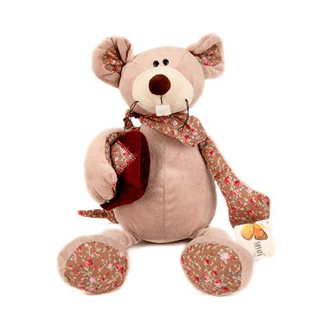 Мышь с подушкойGT6879,MF1301,25BМышь с подушкой - это забавная игрушка, которая создана для детей старше 3 лет. Она изготовлена из качественных материалов, которые абсолютно безвредны для ребенка. Игрушка способствует развитию воображения и тактильной чувствительности. Высота игрушки: 25 см.