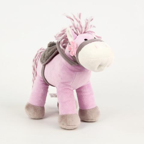 Лошадка Красавица, со звукомK21314BМузыкальная мягкая лошадка от Plush Apple - это замечательная игрушка, которая понравится каждому ребенку. При нажатии на игрушку, она споет веселую и добрую песенку. Эта великолепная игрушка подарит массу впечатлений Вашему ребенку и Вам!