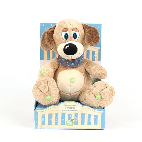Собака в косынке Я расскажу тебе 4 сказки и спою колыбельнуюK33050B1Мягкая игрушка известного мирового производителя. Плюшевые игрушки помогут любому человеку выразить свои чувства и преподнести незабываемый, оригинальный подарок своим близким и любимым.