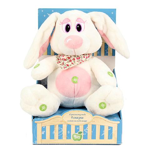 Кролик в косынке Я расскажу тебе 4 сказки и спою колыбельнуюK33050D1Мягкая игрушка известного мирового производителя. Плюшевые игрушки помогут любому человеку выразить свои чувства и преподнести незабываемый, оригинальный подарок своим близким и любимым.