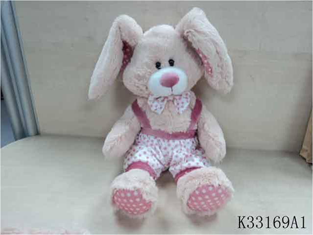 Заяц в штанишкахK33169A1Мягкая игрушка известного мирового производителя. Плюшевые игрушки помогут любому человеку выразить свои чувства и преподнести незабываемый, оригинальный подарок своим близким и любимым.