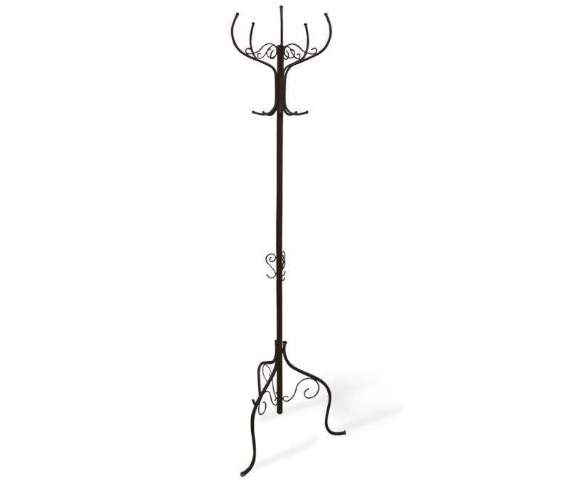 Вешалка напольная Sheffilton Офис Грация Р, цвет: черный, 62 см х 62 см х 189 см