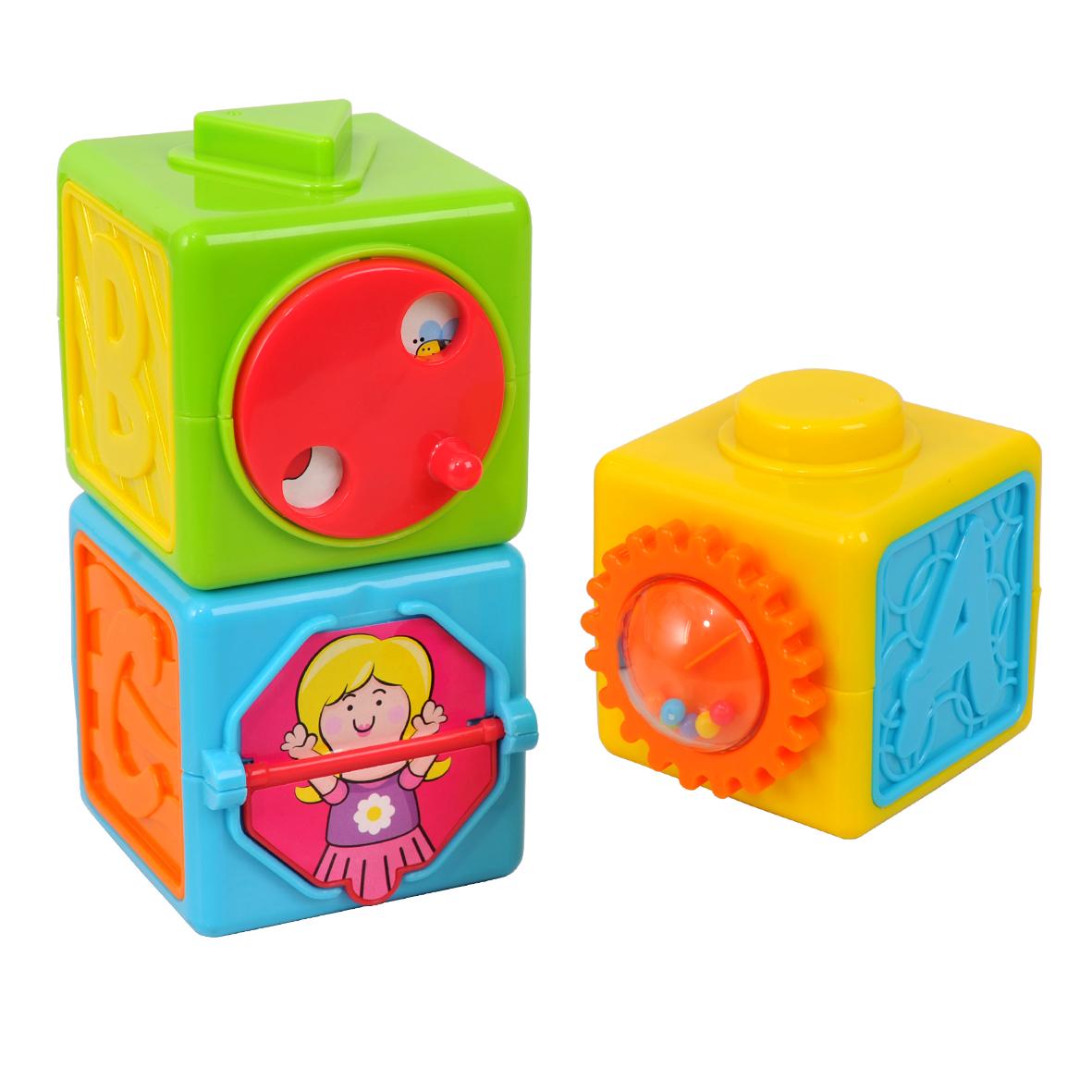 Playgo Игровой центр Развивающие кубикиPlay 2085