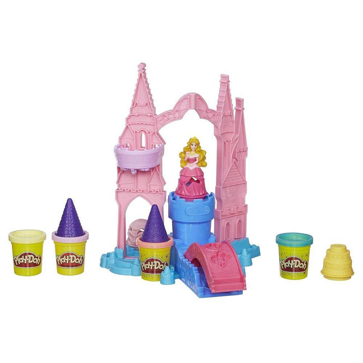 Play-Doh Игровой набор Чудесный замок Авроры, с пластилином