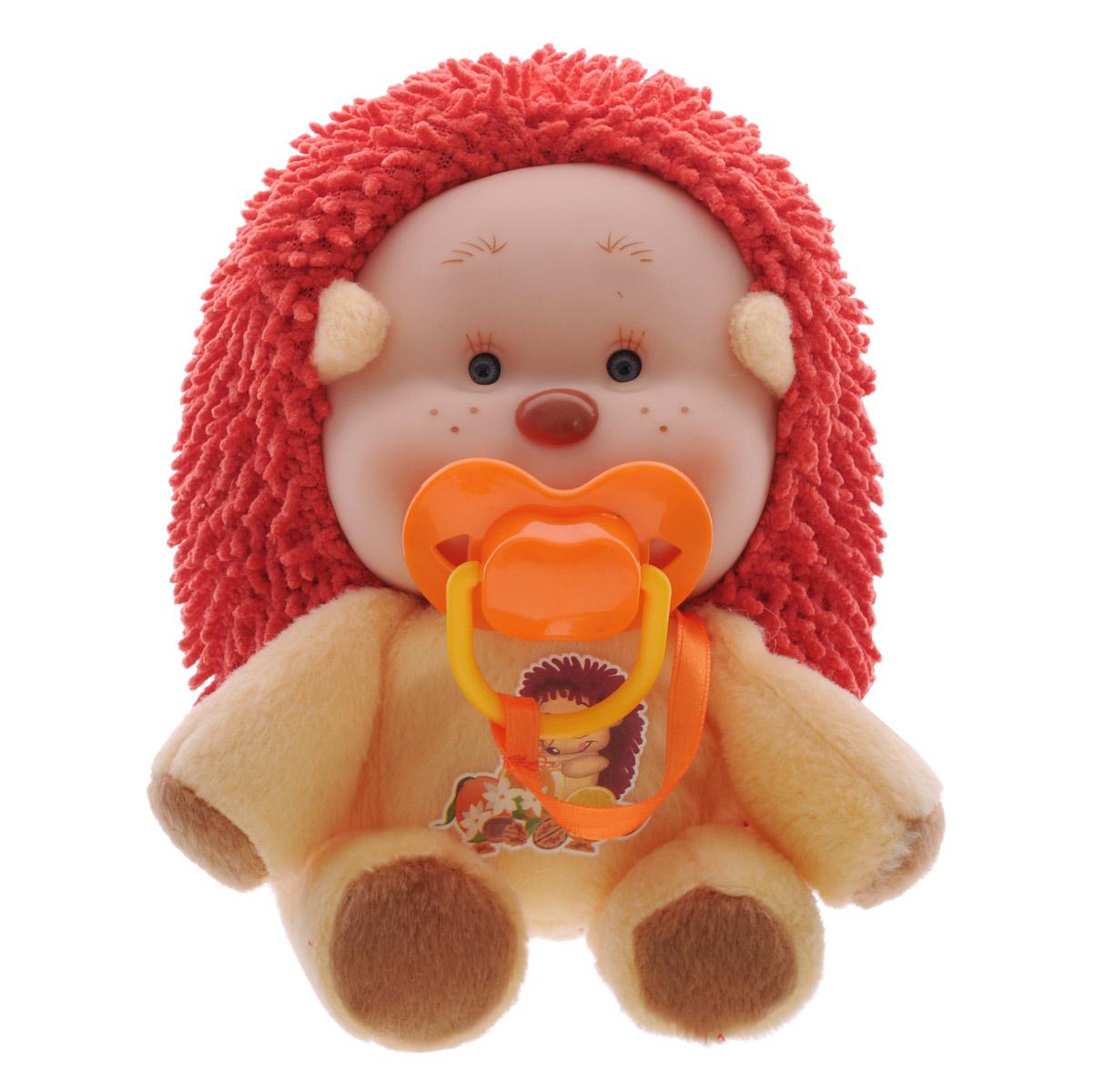 Yogurtinis Мягкая игрушка Лесные друзья Ёжик Энди15007-4Мягкая игрушка Yogurtinis Лесные друзья. Ёжик Энди с нежным ароматом станет лучшим другом для вашего малыша. Она выполнена из приятного на ощупь плюша нежных цветов в виде очаровательного ежика. Тело у игрушки мягкое, а милая мордашка выполнена из безопасного пластика. Дополнительно к игрушке прилагается соска, которая легко вставляется в ротик. Поставляется игрушка в фирменной пластиковой банке. Этот симпатичный ежик принесет радость и подарит своему обладателю мгновения нежных объятий и приятных воспоминаний. Великолепное качество исполнения делают эту игрушку чудесным подарком к любому празднику, а оригинальный жизнерадостный образ представит такой подарок в самом лучшем свете.