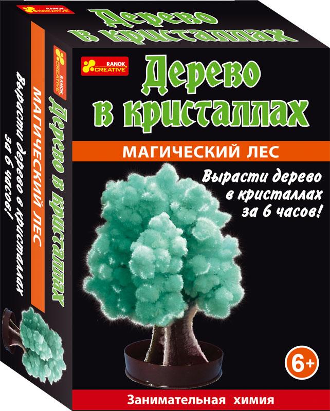 Магический лес (зеленый) - Сад пушистых кристаллов12138008РС помощью этого набора можно вырастить кристаллы всего за пару часов. Прямо на глазах картонная основа превратиться в пушистое красивое дерево!
