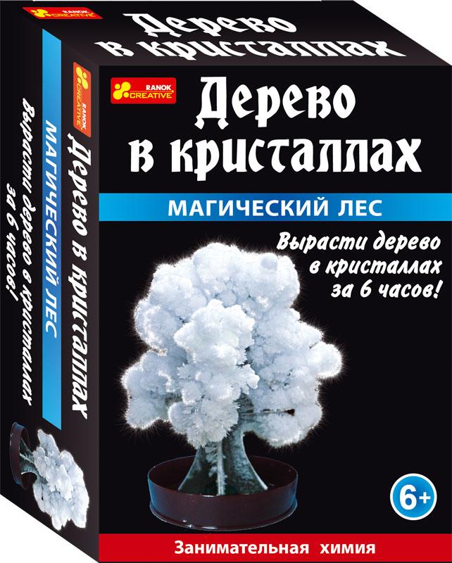 Магический лес (белый) - Сад пушистых кристаллов12138010РС помощью этого набора можно вырастить кристаллы всего за пару часов. Прямо на глазах картонная основа превратиться в пушистое красивое дерево!