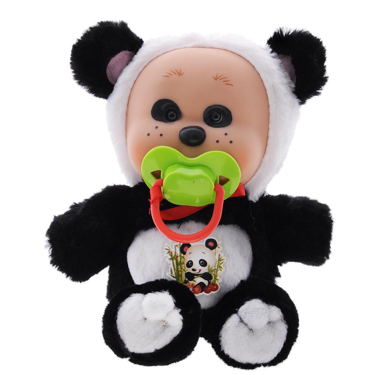 Yogurtinis Мягкая игрушка Лесные друзья Панда Ли15007-3Мягкая игрушка Yogurtinis Лесные друзья. Панда Ли с приятным ароматом станет лучшим другом для вашего малыша. Она выполнена из приятного на ощупь плюша нежных цветов в виде очаровательной панды. Тело у игрушки мягкое, а милая мордашка выполнена из безопасного пластика. Дополнительно к игрушке прилагается соска, которая легко вставляется в ротик. Поставляется игрушка в фирменной пластиковой банке. Эта прекрасная панда принесет радость и подарит своему обладателю мгновения нежных объятий и приятных воспоминаний.