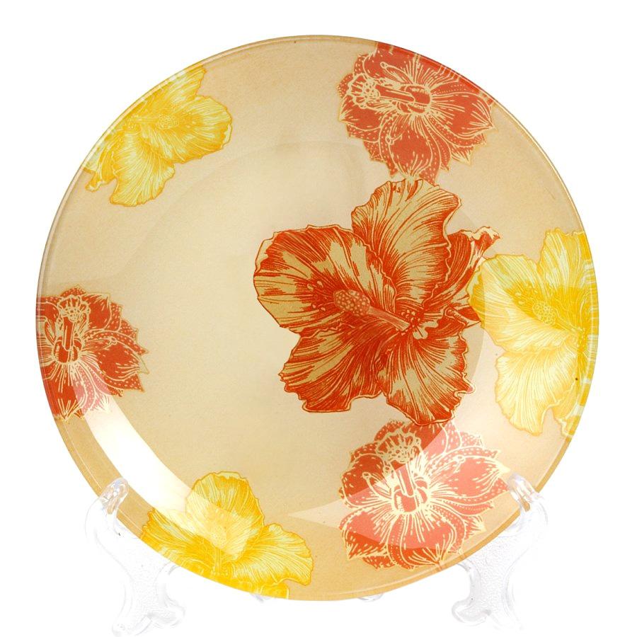 Салатник House & Holder Цветы, диаметр 20,5 смS302008NG008Круглый салатник House & Holder Цветы, изготовленный из стекла, декорирован ярким изображением цветов. Такой салатник украсит сервировку вашего стола и подчеркнет прекрасный вкус хозяина, а также станет отличным подарком. Диаметр: 20,5 см. Высота: 3,2 см.