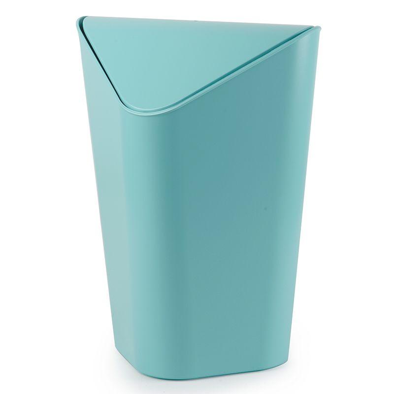 """Контейнер для мусора Umbra """"Corner"""", цвет: голубой, 10 л 086900-276"""