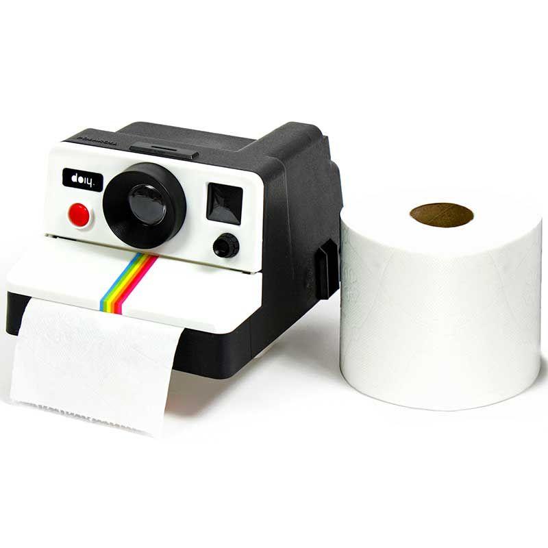 Держатель для туалетной бумаги Polaroll белый