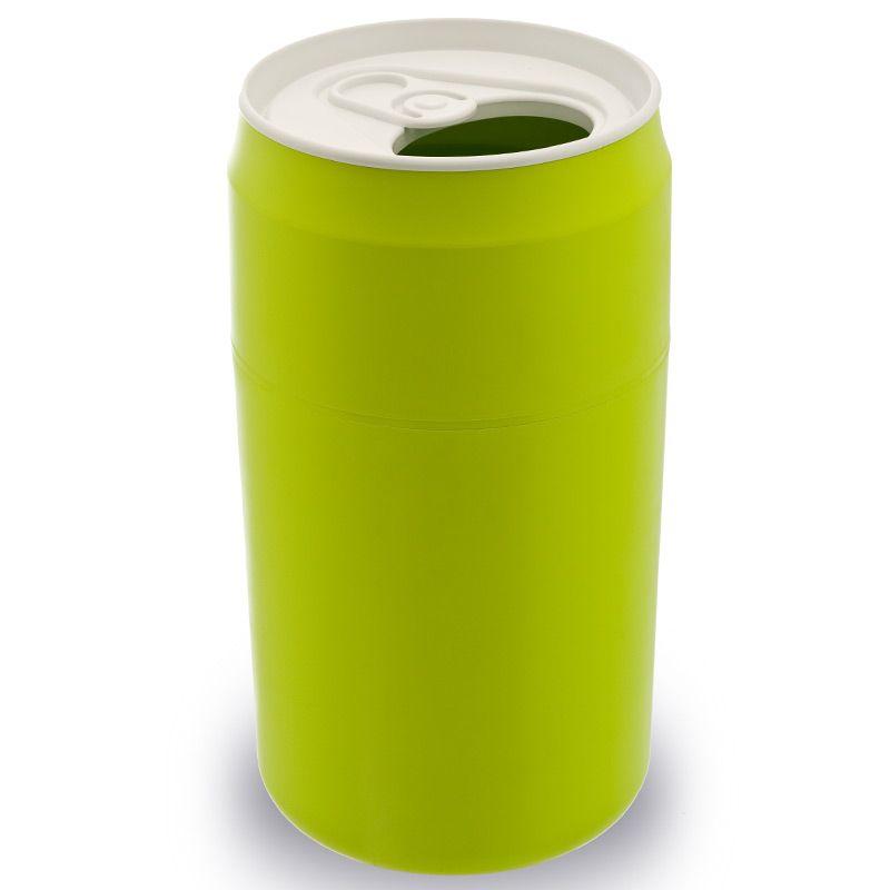 Qualy Корзина для мусора Capsule зеленая QL10081-GN
