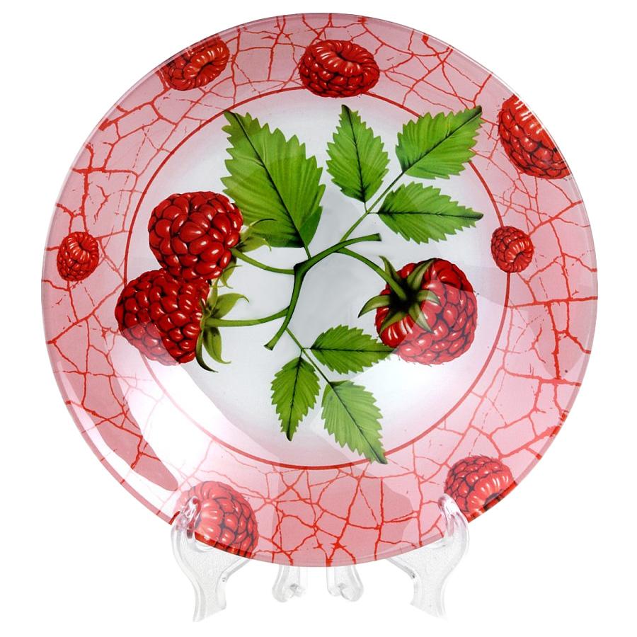 Салатник House & Holder Малина, диаметр 22,5 смS302009F191Круглый салатник House & Holder Малина, изготовленный из стекла, декорирован ярким изображением. Такой салатник украсит сервировку вашего стола и подчеркнет прекрасный вкус хозяина, а также станет отличным подарком. Диаметр: 22,5 см. Высота: 5 см.