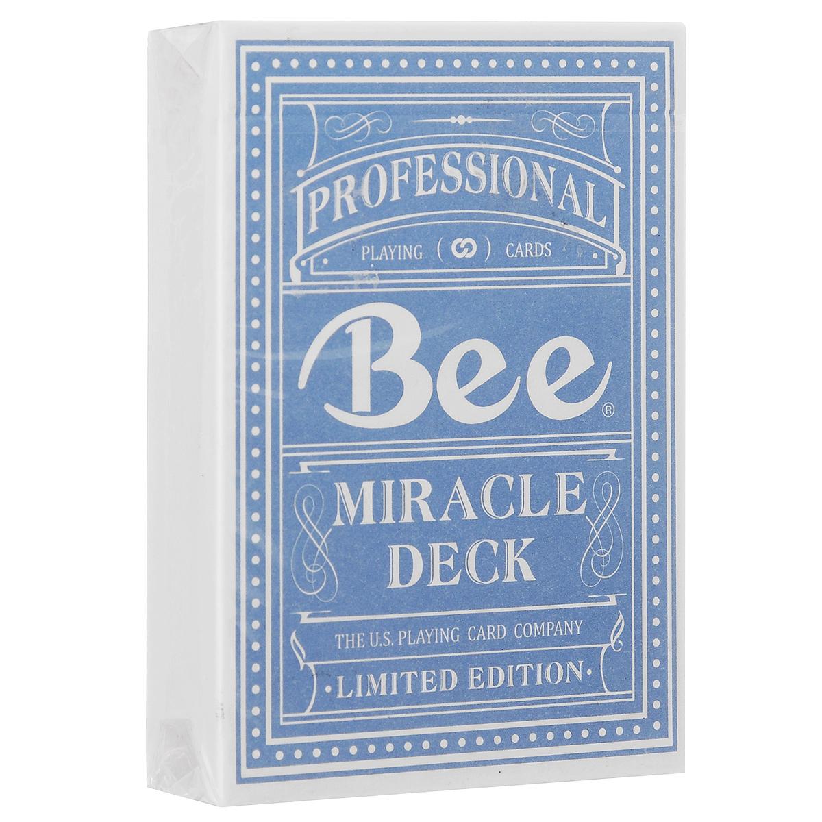 Игральные карты Bee Magic 8 Anniversary, цвет: голубойК-341Колода выпущена специально в честь самой многочисленной магической ассоциации Magic 8 , насчитывающей более 20000 человек. Ее основателем является всемирно известный фокусник Лю Чен.