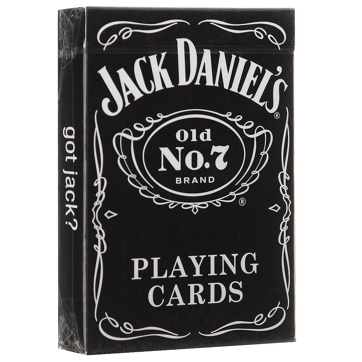 Игральные карты Bicycle Jack Daniels, цвет: серый, 54 штК-167Каждая бутылка виски Теннесси Джек Даниэлс сделано в Линчберге, Теннесси на старейшем ликероводочном заводе Америки. В производстве используются те же методы и стандарты, которые Джек Дэниелс установил в 1866 году. Эта приверженность качеству и особый запах дыма привели к популярности этого виски по всему миру. Это просто напоминание о том, что стиль никогда не выходит из моды.