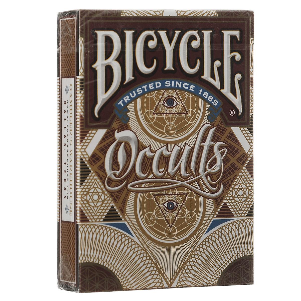 Таинственная колода Bicycle Gamblers Warehouse, цвет: коричневый, 56 штК-419Прекрасная колода Bicycle Gamblers Warehouse для игр и коллекции со стильными рисунками для любителей всего таинственного и необычного. Карты доступны в двух видах.