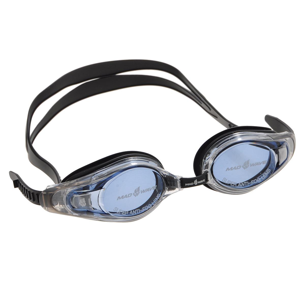 Очки для плавания с диоптриями MadWave Optic Envy Automatic, цвет: черный, -8M0430 16 M 05WОчки для плавания с диоптриями MadWave Optic Envy Automatic. Выполнены из поликарбоната и силикона. Особенности: Удобные очки с оптической силой -8. Система автоматической регулировки ремешков на корпусе очков. Защита от ультрафиолетовых лучей. Антизапотевающие стекла. Регулируемая восьмиступенчатая носовая перемычка. Сменная линза. Надежная безклеевая фиксация обтюратора. Плоский силиконовый ремешок.
