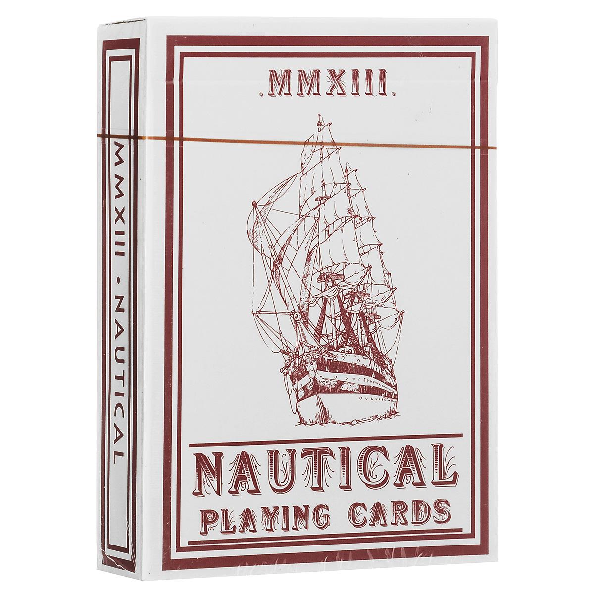 Навигационные игральные карты House of Playing Cards, цвет: красныйК-316Навигационная колода - детище художника Эдо Хуана, по дизайну напоминающая классические колоды Bee. Все в этой колоде вдохновлено морем. Джокер-корабль завершает композицию из якорных канатов, которые являются связующим элементом всех карт колоды. Чем больше карты используются, тем удобнее с ними выступать. В каждой колоде вы найдете специальную дизайнерскую карту.