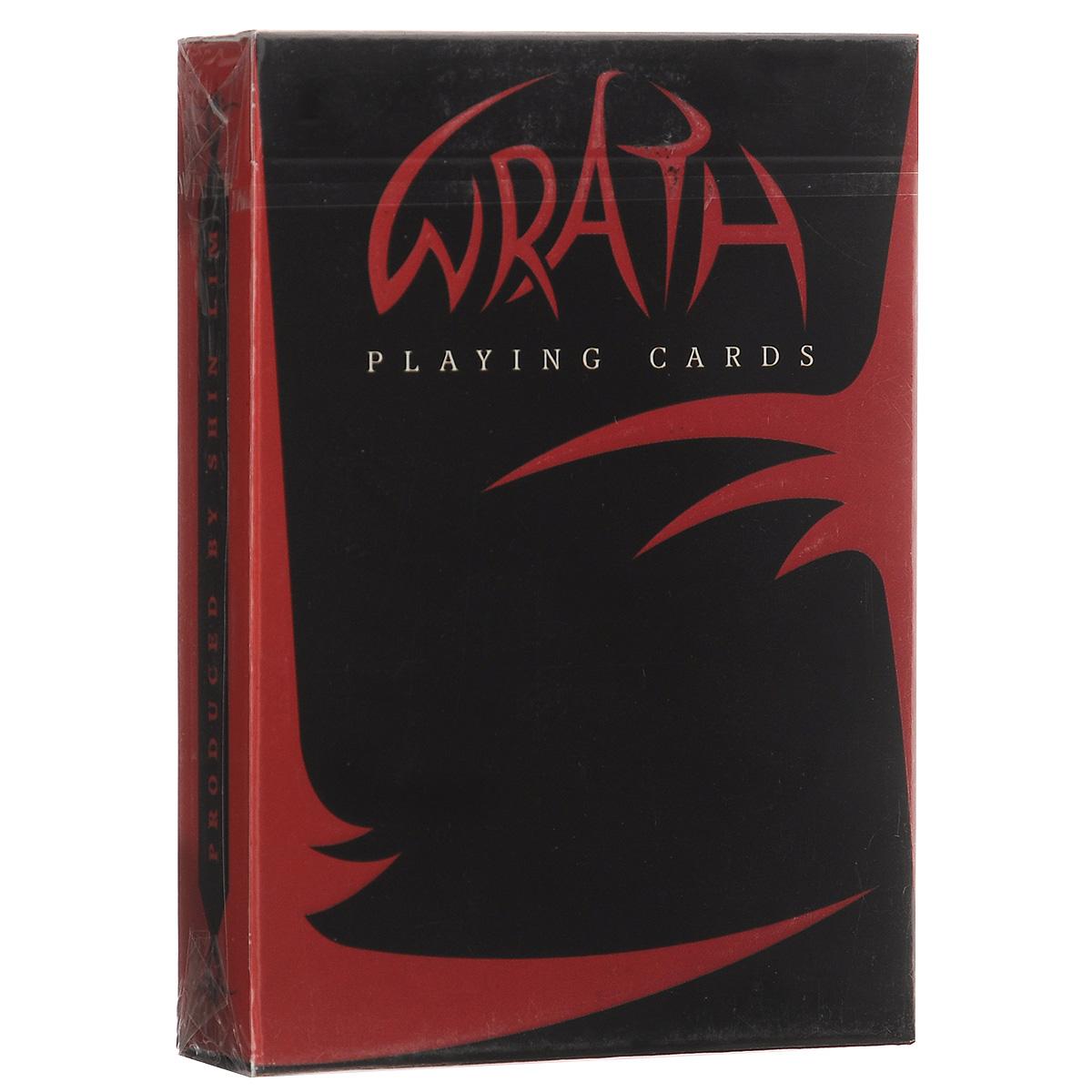 Игральные карты Shin Lim Колода гнева, цвет: черный, красныйК-268Кроме невероятного дизайна в колоде заключен и секрет, с помощью которого вы покорите зал. В колоде вы также найдете две специальные карты и два секретных трюка с предсказанием.