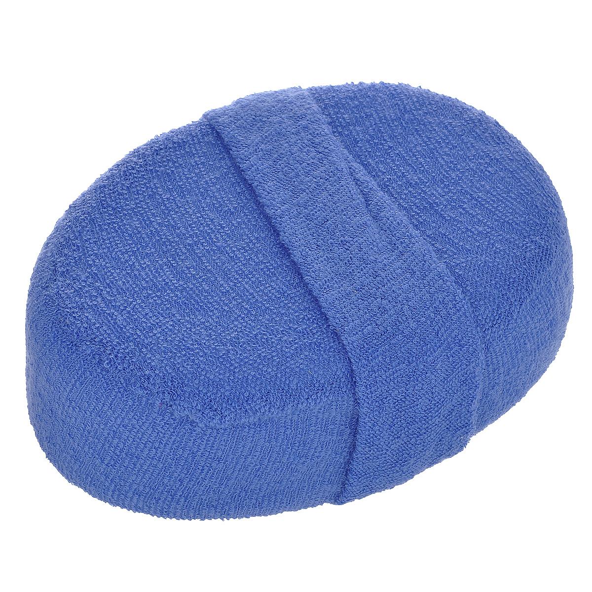 Мочалка Home Queen, из люфы, цвет: синий, 15 см х 10 см50838 синийМочалка Home Queen Овал объемный, изготовленная из люфы, прекрасно очищает и массирует кожу, улучшает циркуляцию крови и обмен веществ. Обладает эффектом скраба - мягко отшелушивает верхний слой эпидермиса, стимулируя рост новых, молодых клеток, делает кожу здоровой и красивой. Подходит для ежедневного использования.
