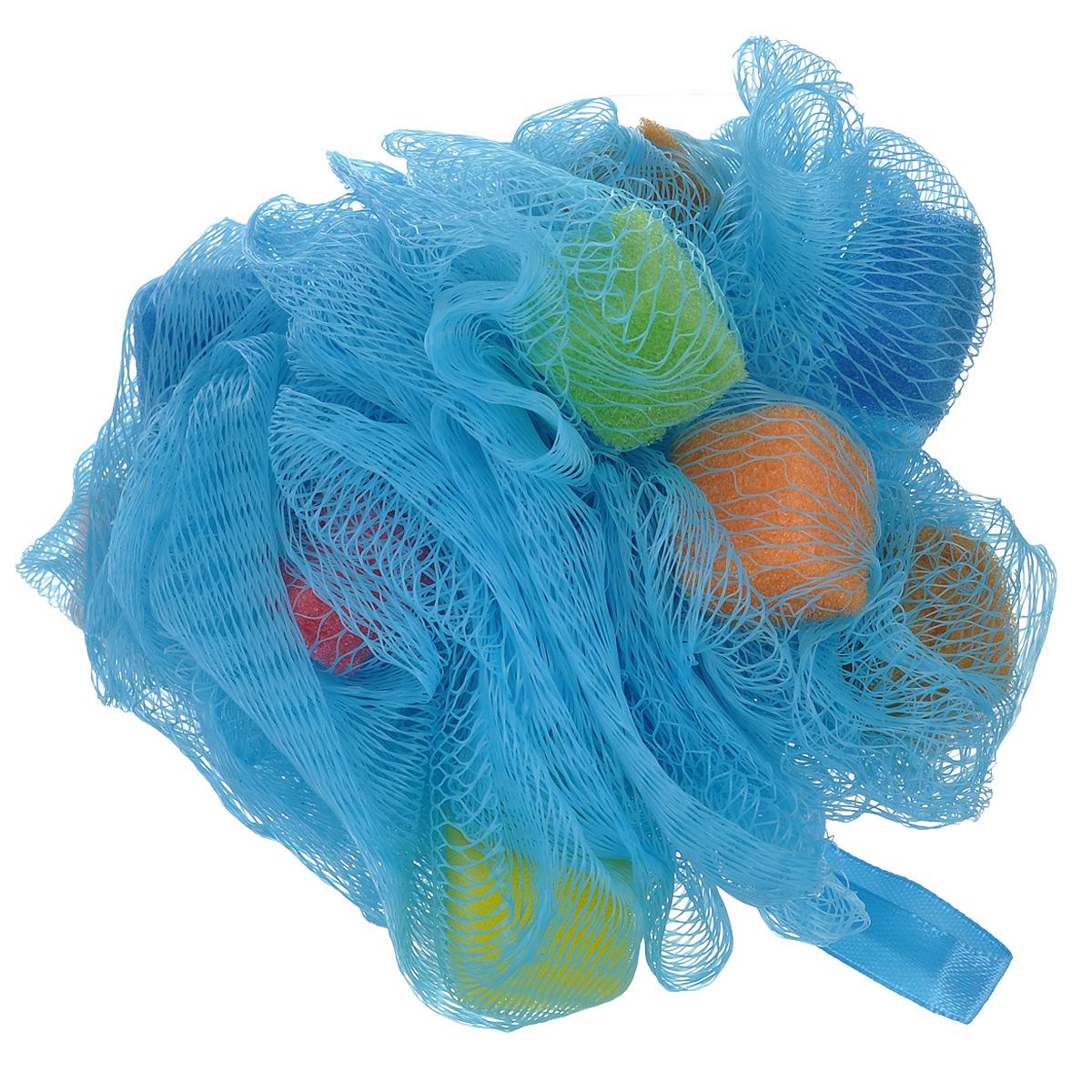 Мочалка нейлоновая The Body Time, цвет: светло-синий. 5705557055 синийМочалка The Body Time, изготовленная из нейлона, мягко и бережно очищает, массирует и тонизирует кожу. Мочалка улучшает циркуляцию крови и обмен веществ, делает кожу здоровой и красивой. Мини-губки внутри мочалки создают исключительно пышную пену. Подходит для ежедневного применения.