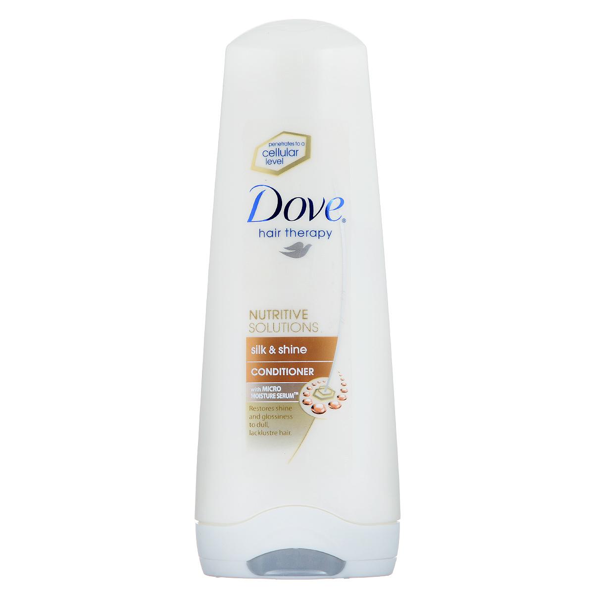 Dove Бальзам-ополаскиватель Hair Therapy Шелковое сияние 200мл.