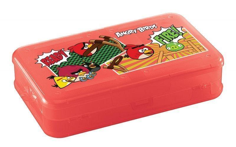 Коробка для мелочей с декором «Angry Birds», цвет: красныйС12262_красныйДвусторонний компактный органайзер можно использовать для хранения и переноски детских карандашей, фломастеров, различных мелких предметов. Наличие ячеек с двух сторон обеспечивает вместительность органайзера: ячейки имеют разные размеры и независимы друг от друга.