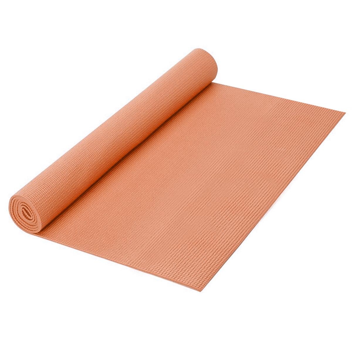 Коврик для йоги Easy Body, 172 см х 61 см х 0,3 см, цвет: оранжевый5476МТ-IB оранжевыйКоврик для йоги Easy Body сделает Ваши занятия спортом комфортными и приятными. Так как многие упражнения выполняются лежа на полу, и чтобы не простудиться и не испачкать одежду, Вам просто необходим чистый, мягкий и теплоизолирующий коврик. Коврик удобно расстилается и легко сворачивается, не занимает много места.