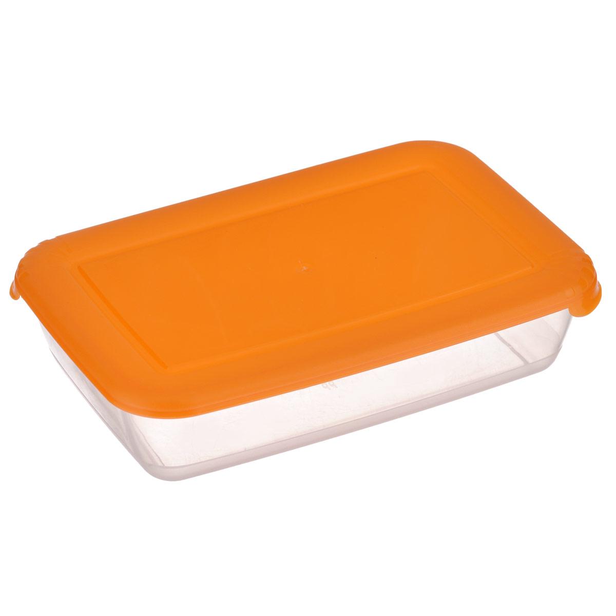 Контейнер для СВЧ Полимербыт Лайт, цвет: оранжевый, 0,45 лС551 оранжевыйПрямоугольный контейнер для СВЧ Полимербыт Лайт изготовлен из высококачественного прочного пластика, устойчивого к высоким температурам (до +120°С). Цветная полупрозрачная крышка плотно закрывается, дольше сохраняя продукты свежими и вкусными. Контейнер идеально подходит для хранения пищи, его удобно брать с собой на работу, учебу, пикник или просто использовать для хранения пищи в холодильнике. Подходит для разогрева пищи в микроволновой печи и для заморозки в морозильной камере (при минимальной температуре -40°С). Можно мыть в посудомоечной машине.