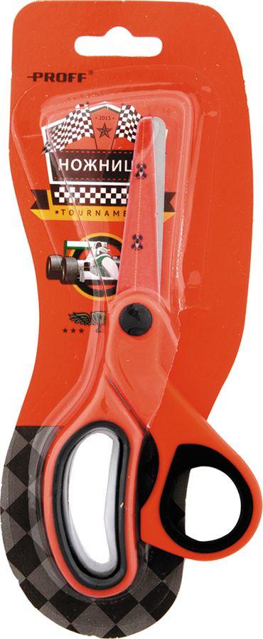 Ножницы Proff Racing, с закругленными концами, цвет: красный, черный, 13,3 смDH15-SCI13Ножницы Proff Racing оборудованы закругленными кончиками для обеспечения полной безопасности во время использования. Лезвия выполнены из шлифованной нержавеющей стали. На лезвиях есть рисунок гоночных машинок. Ручки ножниц прорезинены.