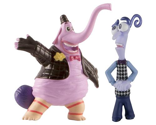Набор фигурок Головоломка Бинг-Бонг и Страх61914_61419_Бинг-Бонг+СтрахНабор фигурок Головоломка Бинг-Бонг и Страх понравится вашему ребенку. В него входят две пластиковые фигурки в виде Бинг-Бонга и Страха - персонажей мультфильма Головоломка. Благодаря маленьким размерам фигурок ребенок сможет брать их с собой на прогулку или в гости. Фигурки придутся по душе любому поклоннику популярного мультфильма Головоломка!