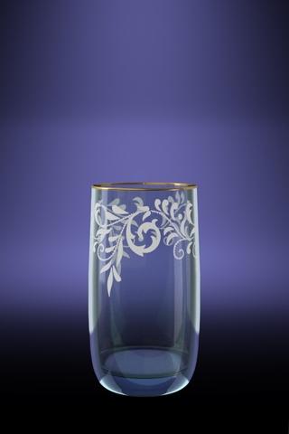 Набор 6 стаканов Эдем для сока с рисунком Веточка 330 млEL10-809Набор 6 стаканов Эдем для сока с рисунком Веточка 330 мл
