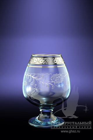 Набор 6 бокалов для бренди с рисункомНежность 250 млTL34-483Набор 6 бокалов для бренди с рисункомНежность 250 мл стекло