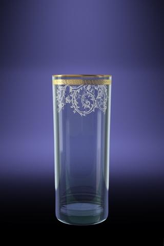 Набор 6 стаканов для сока ГЕО с рисунком Каскад 350 млTL40-806Набор 6 стаканов для сока ГЕО с рисунком Каскад 350 мл