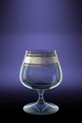 Набор 6 бокалов для бренди Эдем с рисунком Первоцвет 410 млTL66-1812Набор 6 бокалов для бренди Эдем с рисунком Первоцвет 410 мл