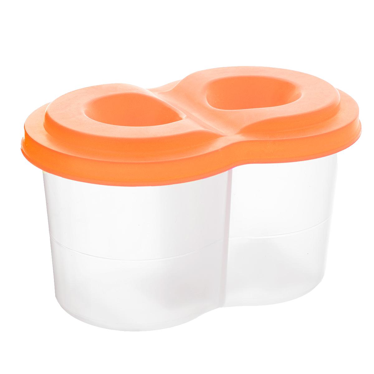 Луч Стакан-непроливайка двойной цвет оранжевый13С 964-08_оранжевыйСтакан-непроливайка Луч, двойной станет незаменимым атрибутом в процессе рисования детского шедевра. Стакан имеет два отделения для чистой и грязной воды, а также оснащен плотно прилегающей крышкой, на которой есть специальные отверстия для кисточек. Cтенка стакана оснащена специальной линией, которая указывает на максимально возможный уровень наполнения его водой.