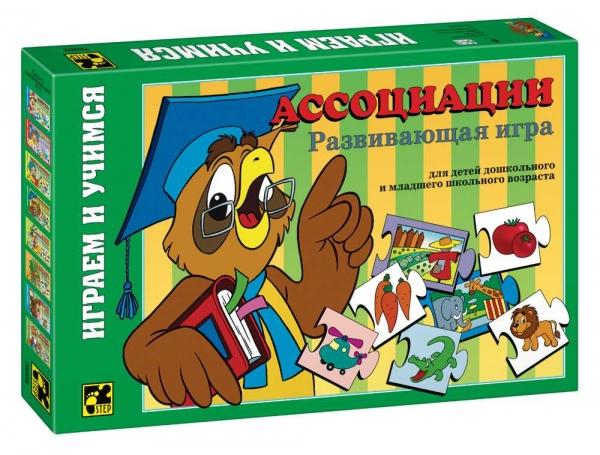 Step Puzzle Развивающая игра Ассоциации76003Играем и учимся! Дидактическая мозаика для детей, начинающих обучение. Игра развивает концентрацию внимания, аналитическое мышление и наблюдательность.