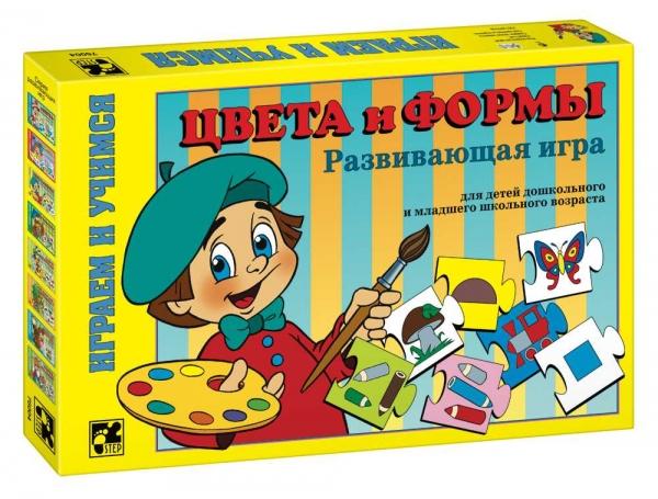 Step Puzzle Развивающая игра Цвета и формы76004Играем и учимся! Дидактическая мозаика для детей, начинающих обучение. Игра развивает концентрацию внимания, аналитическое мышление и наблюдательность.