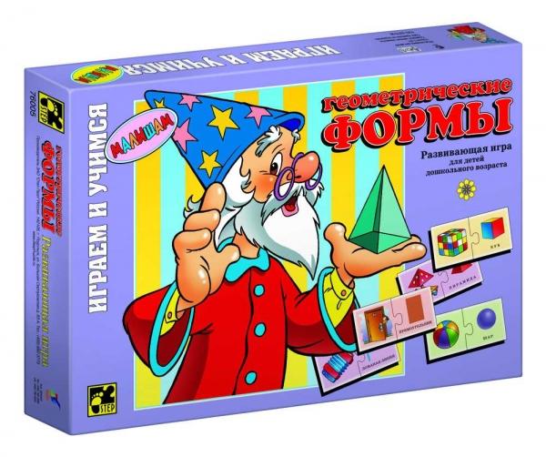 Step Puzzle Развивающая игра Геометрические формы76005Играем и учимся! Развивающая игра для дошкольников. Благодаря простым правилам и ярким картинкам, ребенок, наряду с получаемыми знаниями, развивает ассоциативное мышление, память, мелкую моторику рук.