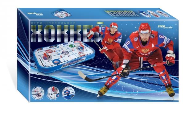 Настольная игра Хоккей76071Настольная игра «Хоккей» - понравится Вам и Вашим детям интересным дизайном и оригинальными техническими решениями. Игра разработана лучшими отечественными инженерами-конструкторами на основе опыта зарубежных и отечественных производителей. Особенностью настольной игры Хоккей является криволинейные траектории движений хоккеистов, что придает игре больше динамичности и реализма.