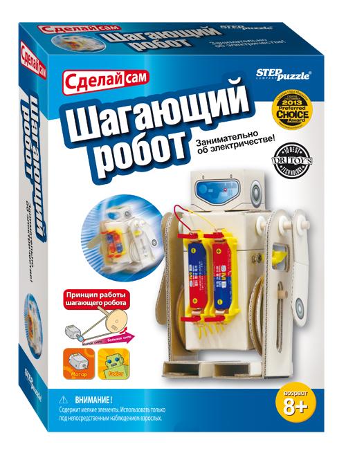 Развивающая игра Шагающий робот76150Сделай сам - увлекательный конструктор, для всех кто любит моделирование. Соберите полезные механизмы из ненужных вещей.