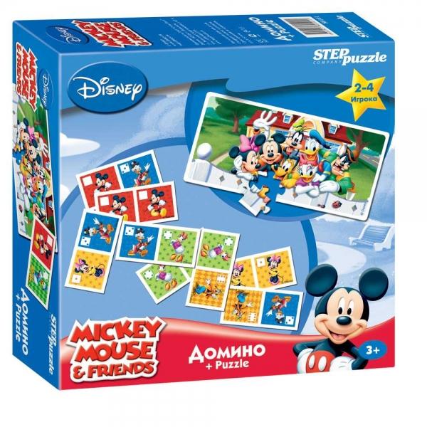Step Puzzle Домино Disney Микки Маус80101Домино - классическая игра, ведущая свою историю от начала 12 века. Развивает внимание, наблюдательность, логическое мышление.