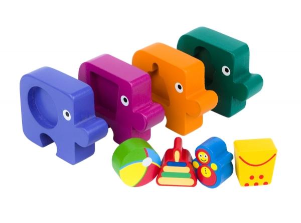 Игра из дерева.Первый пазл малыша. Подбираем фигуры. Игрушки89026Деревянная игрушка «Первый пазл малыша. Игрушки» несет энергию живой природы, благотворно влияет на здоровье и психику ребенка . Ориентирована на активное развитие мелкой моторики, сенсорики, речи, памяти, внимания, логического и образного мышления. Специально разработана для занятий с детьми от 1 года до 3х лет.