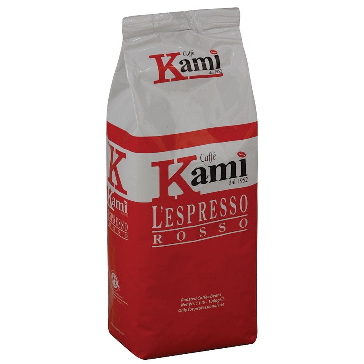 Kami Rosso кофе в зернах, 1 кг 8033300583005