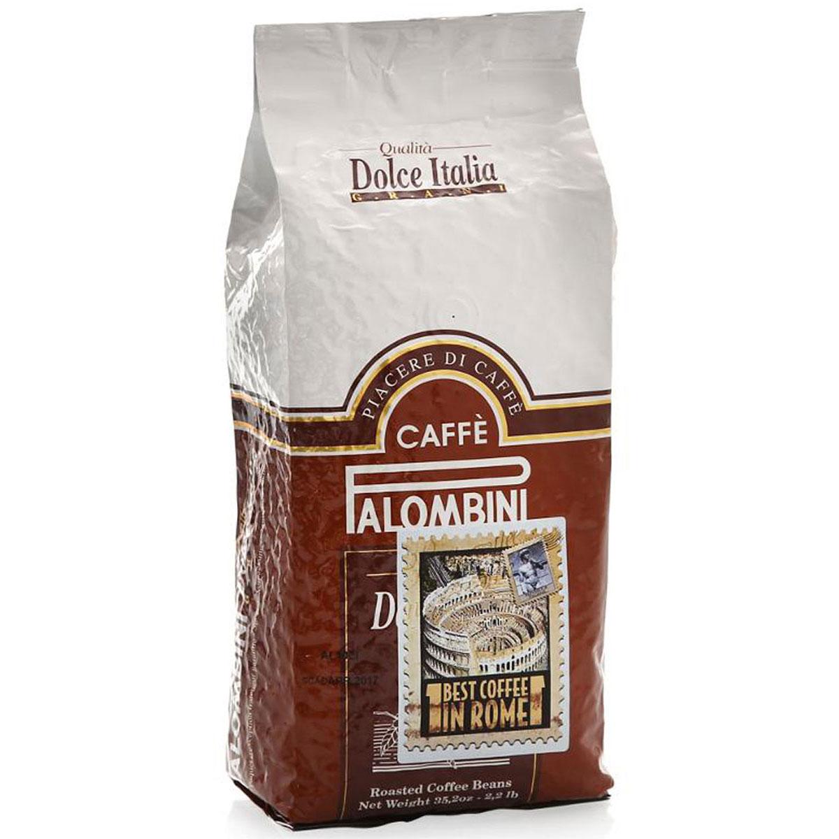 Palombini Dolce Italia кофе в зернах, 1 кг8009785301823Натуральный жареный кофе в зернах Palombini Dolce Italia, высшего сорта. Избранный знатоками вид кофейного многообразия. Идеальный вкус создан специально для влюбленных в кофе. Смесь содержит 95% арабики и 5% робусты.